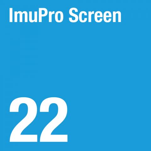 ImuPro Screen - 22 foods analysed